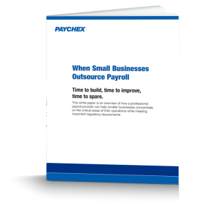 Why Small Businesses Outsource Payroll