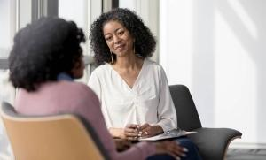 employer working with employees mental health