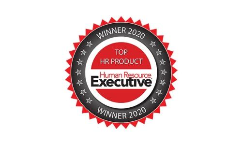HR Executive Magazine Top HR Product 2020 Badge