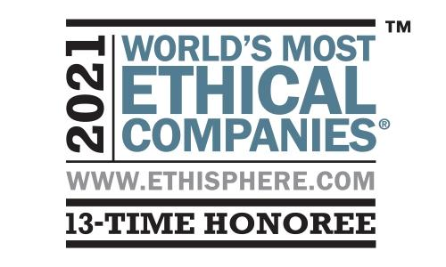 Logotipo de World's Most Ethical Companies 2021