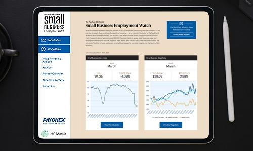 Small Business Employment Watch March 2021