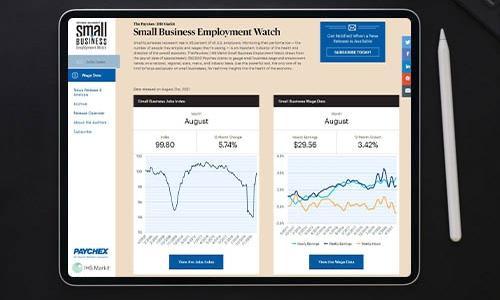 Small Business Employment Watch August 2021
