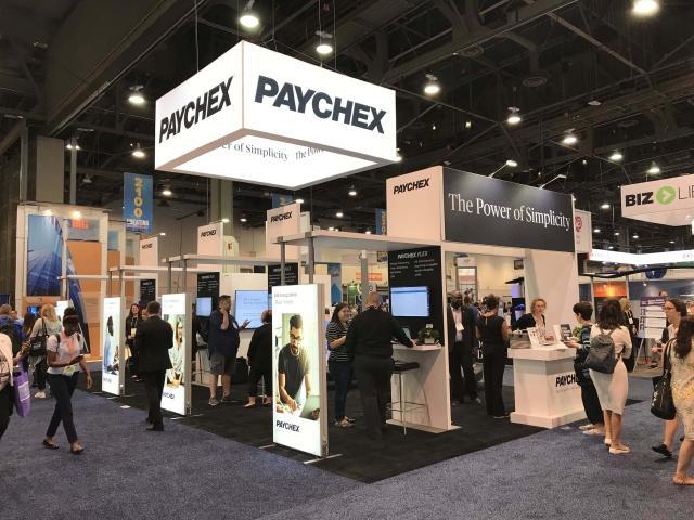 Puesto de feria de Paychex