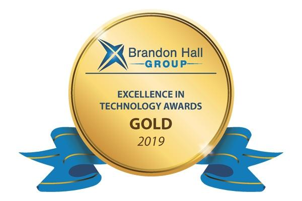 Award Brandon Hall Gold
