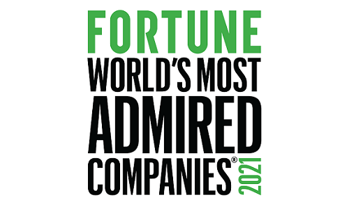 Paychex was named one of FORTUNE World's Most Admired Companies