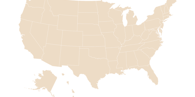 Image of the state map to find state-by-state coronavirus resources