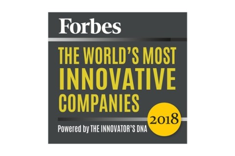 Award Forbes Most Innovative Companies