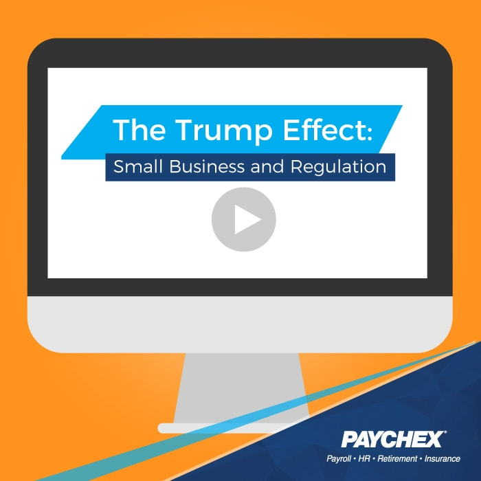 The Trump Effect: Small Business And Regulation